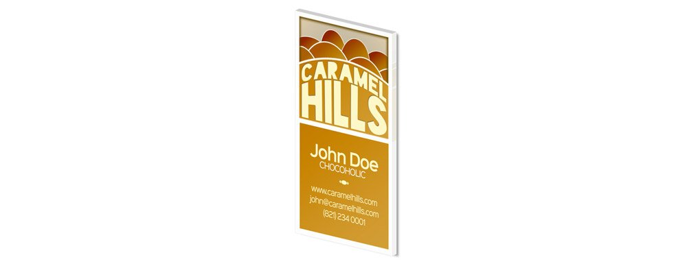 Caramel Hills Business Card