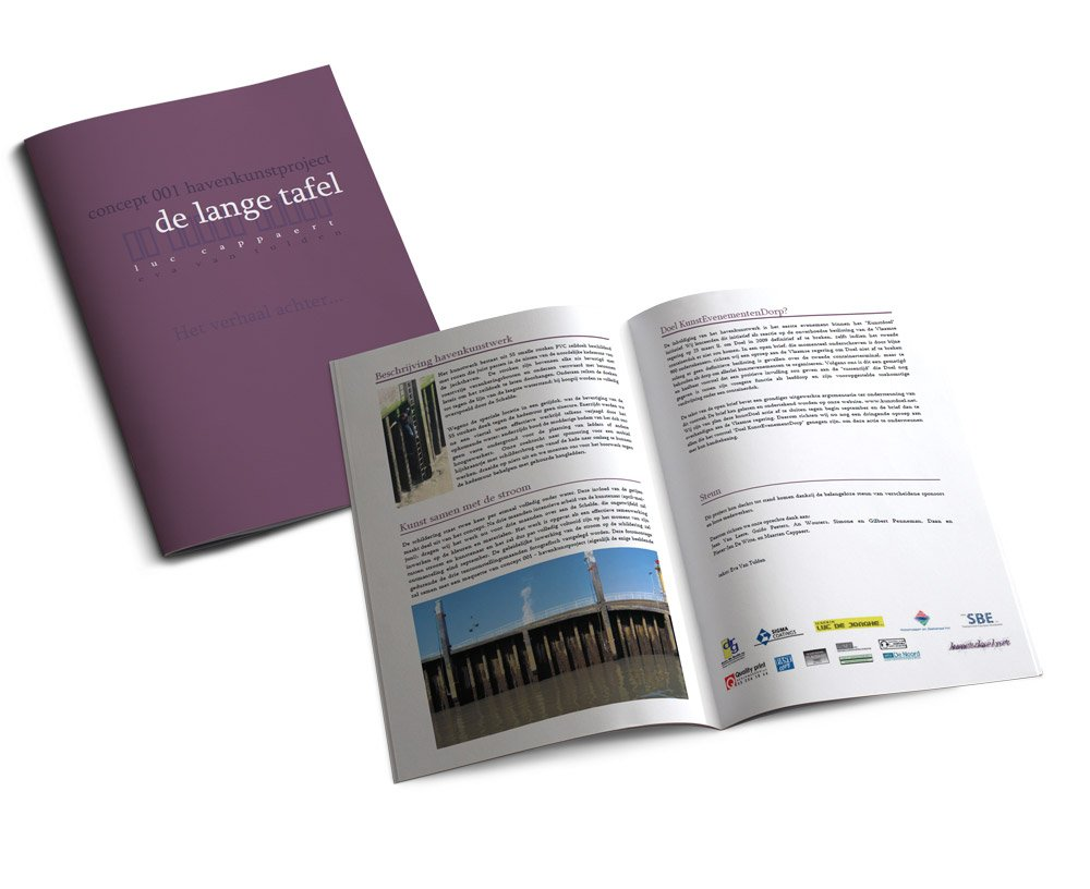 Luc Cappaert Harbor Art Project Brochure