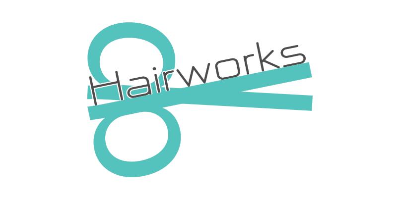 Hairworks Logo Design